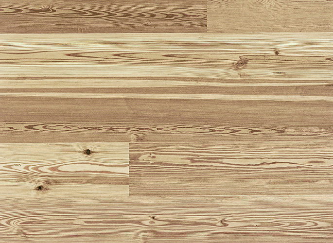 Antique Reclaimed Heart Pine Engineered Prefinished Wood Flooring Wide Plank, Select Grade, Natural finish