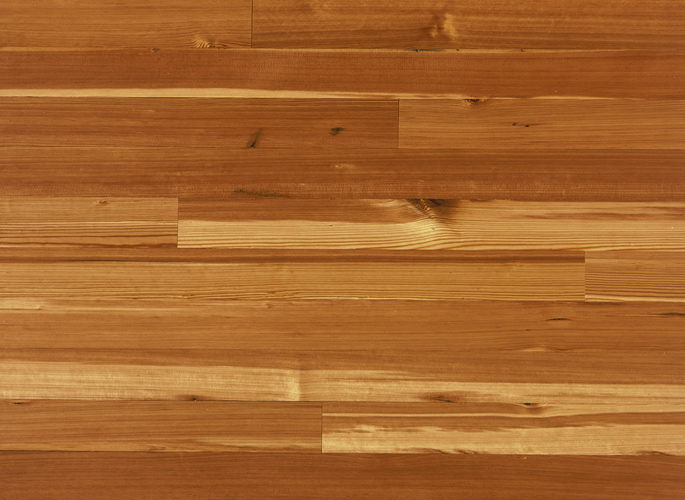 Antique Reclaimed Heart Pine Solid Wood Flooring - Vertical Grain