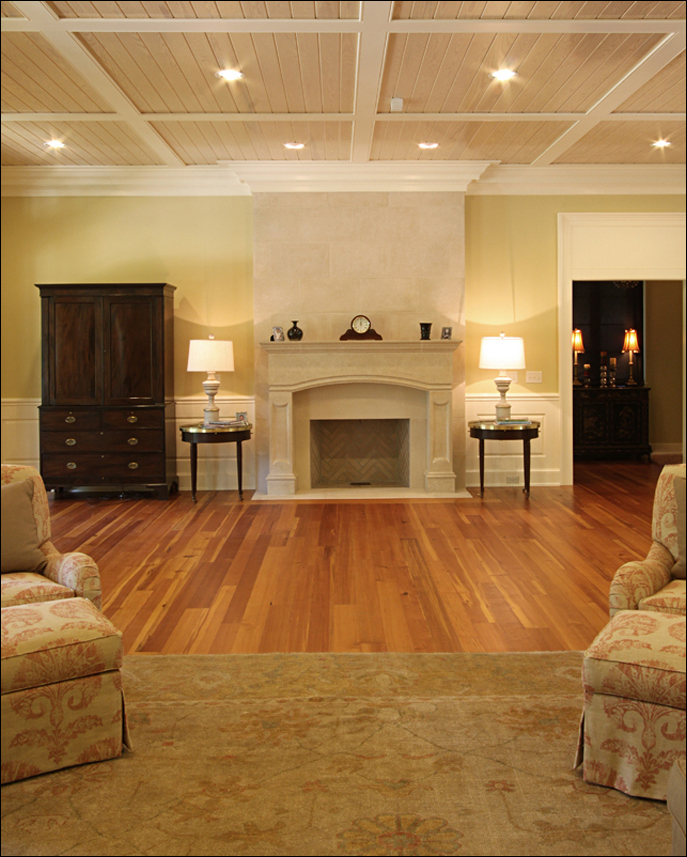 Southern Wood Floors: Antique Reclaimed Heart Pine Wide