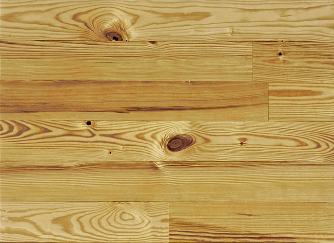 Heart Pine Solid Wood Flooring, Cottage Grade