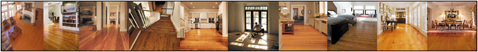 Custom made, one-of-a-kind fine wood flooring in commercial and residential applications.